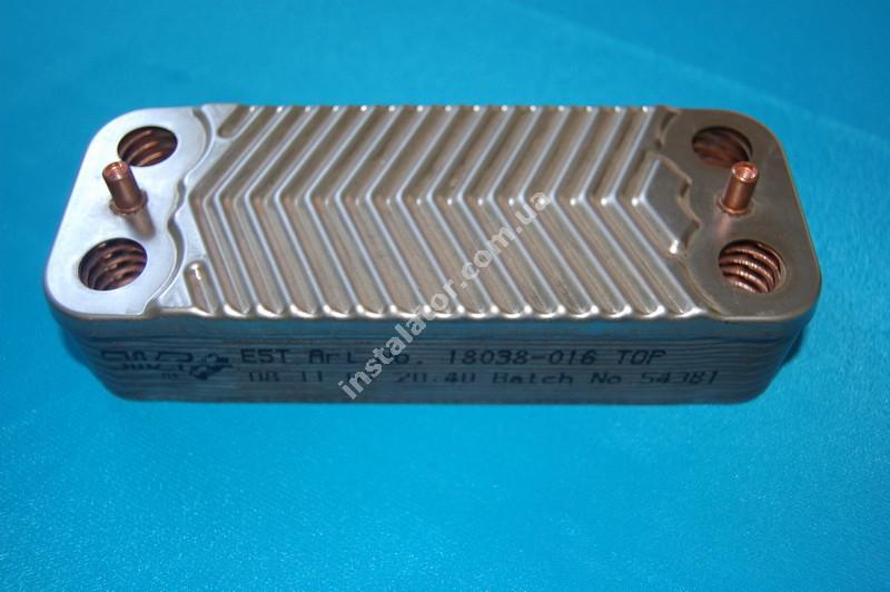 1.022221 Теплообмінник вторинний ГВП IMMERGAS Mini 28 kw, Victrix 28 kw, Mini Special 28 kw full-image-0