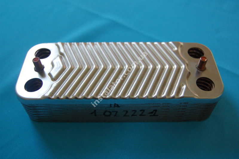 1.022221 Теплообмінник вторинний ГВП IMMERGAS Mini 28 kw, Victrix 28 kw, Mini Special 28 kw full-image-1