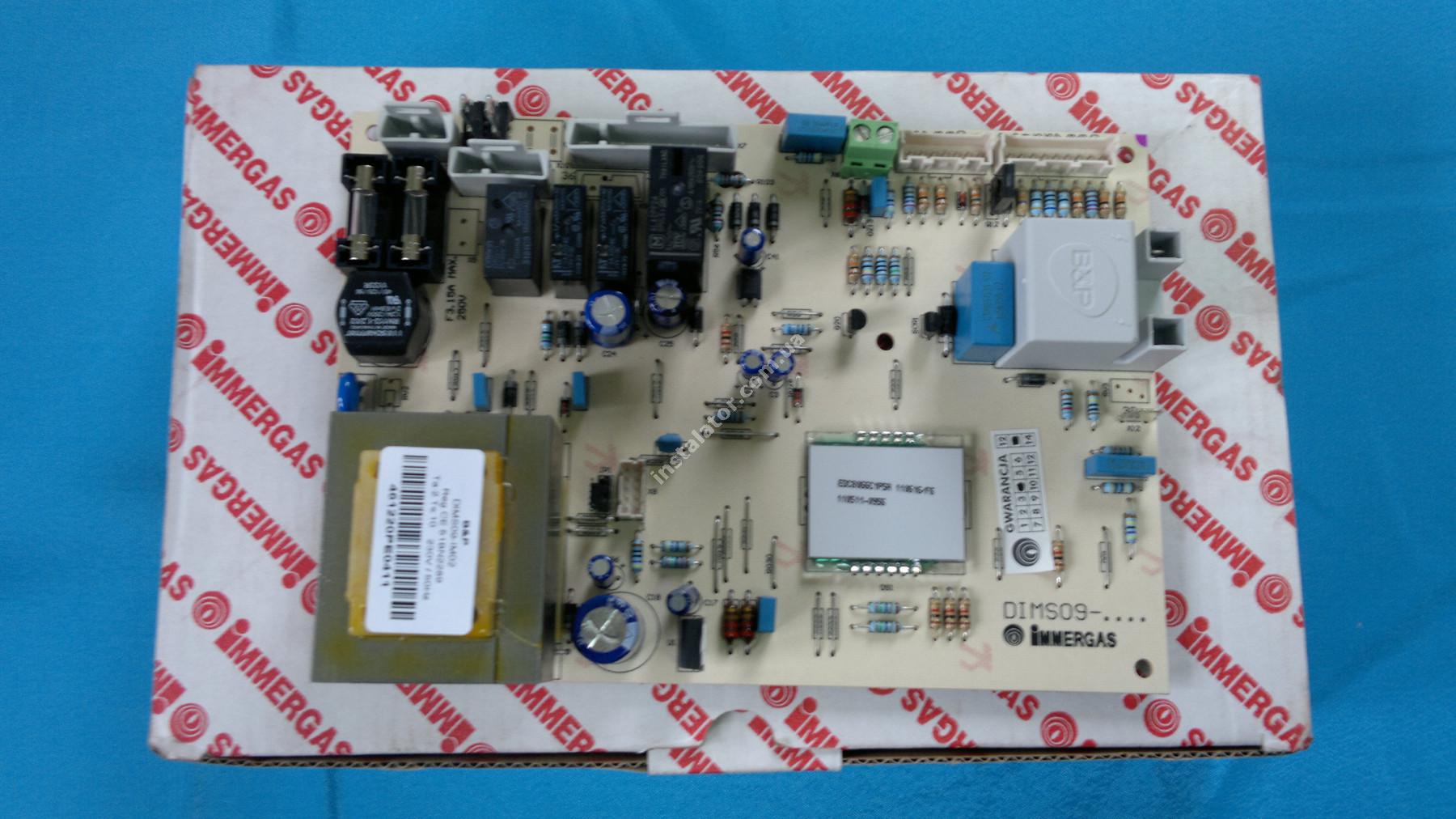 1.024038 Плата керування IMMERGAS Mini  full-image-0