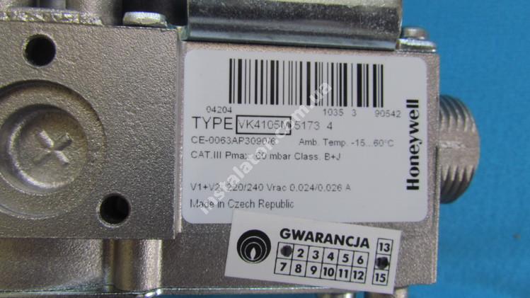 H022005004 Газовий клапан HERMANN Thesi  full-image-0