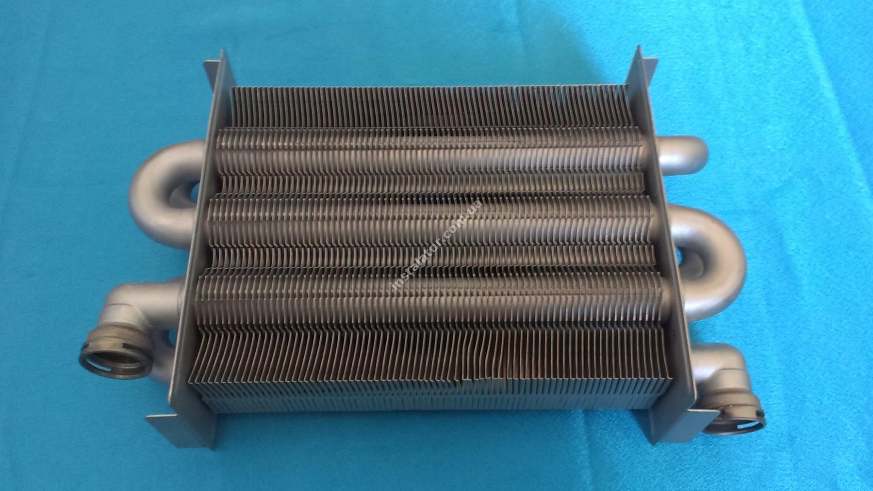 65100425 Теплообмінник первинний ARISTON Uno (турбо) full-image-2