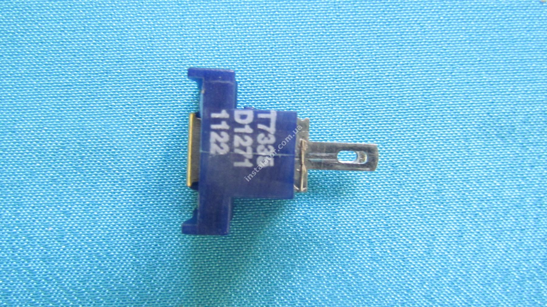990405 Датчик температури (зонд NTC) накладний синій T7335 ARISTON UNO / ACO full-image-1