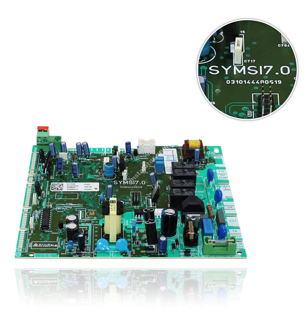 S1047000 Плата керування (основна) SAUNIER DUVAL ThemaClassic, Isofast, Combitek full-image-4