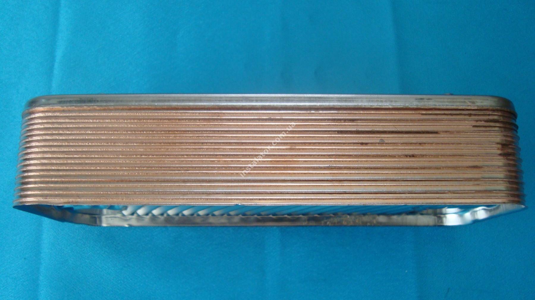 17B1901600 Теплообмінник вторинний ГВП 16 пластин ZILMET full-image-2