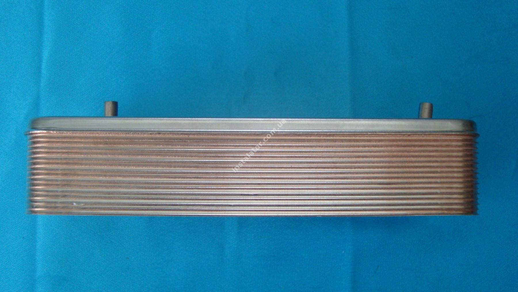 17B2071600 Теплообмінник вторинний ГВП 16 пластин ZILMET full-image-1