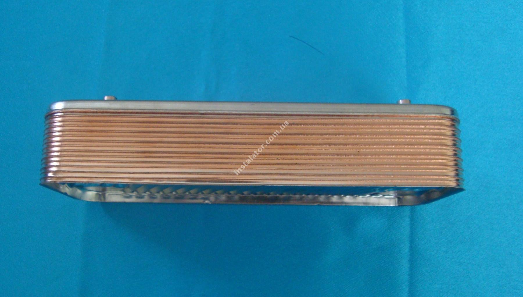 17B1901400 Теплообмінник вторинний ГВП 14 пластин ZILMET full-image-2