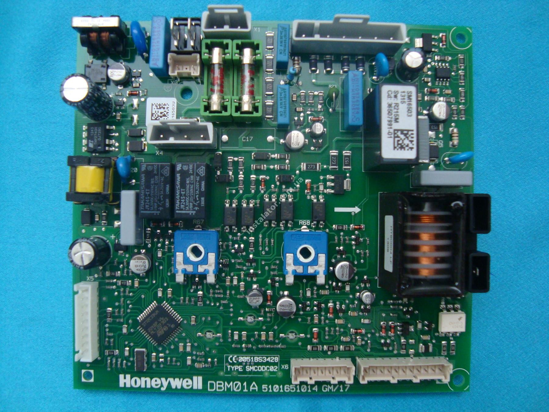 39819530 (36507991)  Плата електронна Ferroli Domiproject Honeywell DBM01A full-image-3