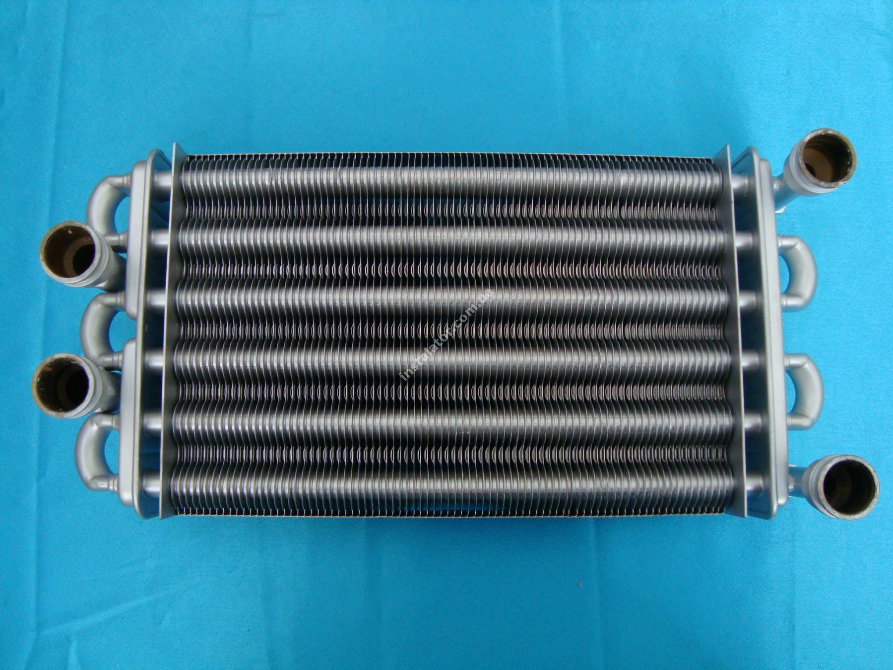 616170 Теплообмінник бітермічний BAXI WESTEN QUASAR full-image-1