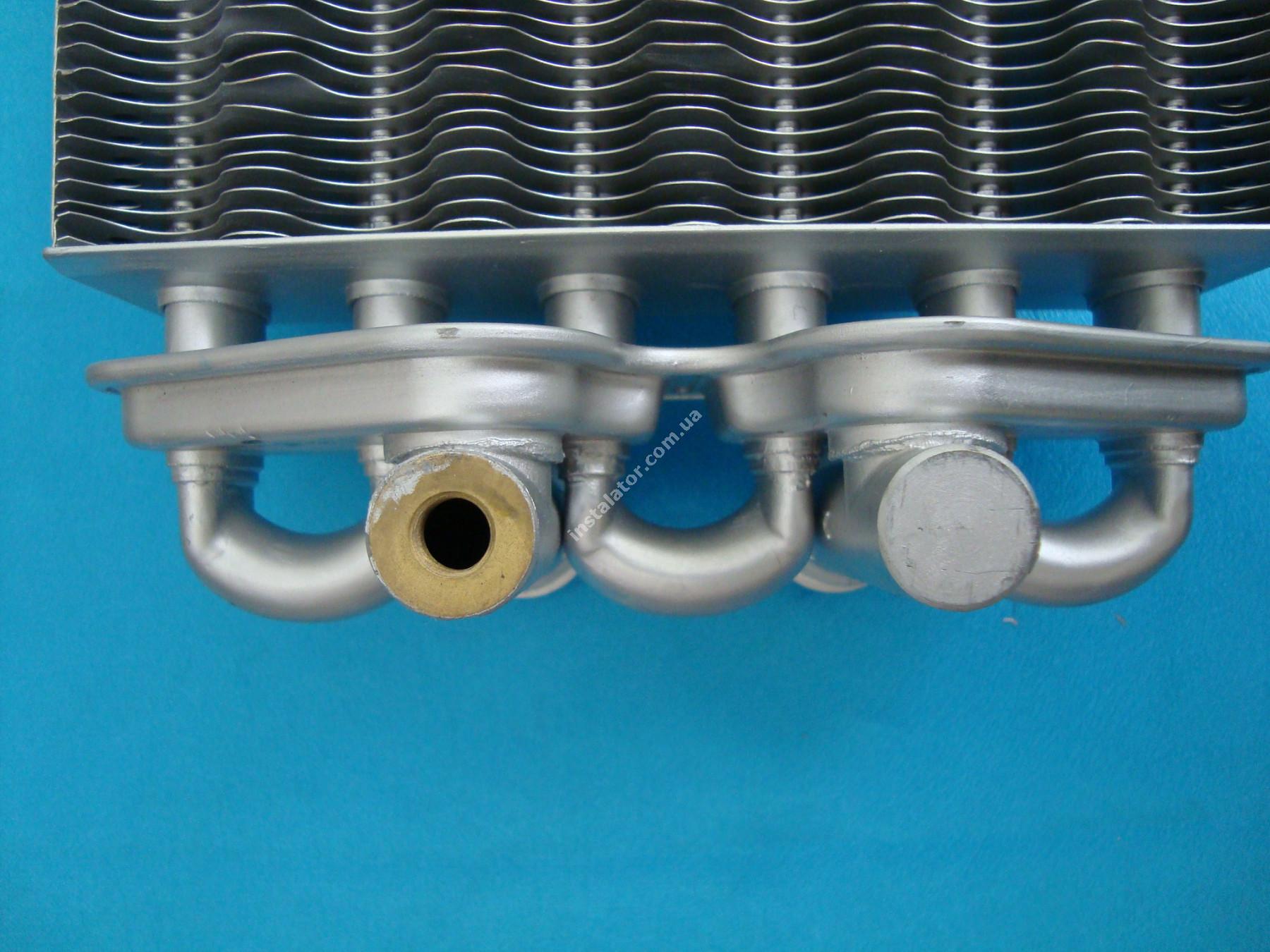 616170 Теплообмінник бітермічний BAXI WESTEN QUASAR full-image-2