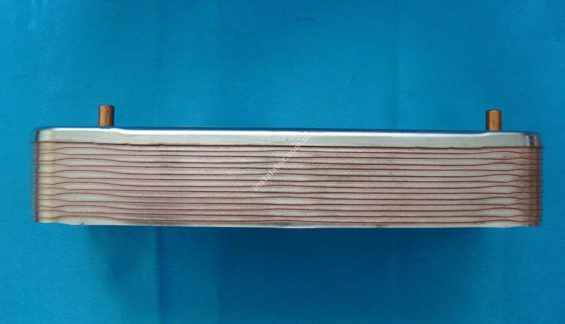 S1005800 Теплообмінник вторинний ГВП SAUNIER DUVAL Themaclassic/ JUNKERS/BOSCH/ALFA LAVAL full-image-0