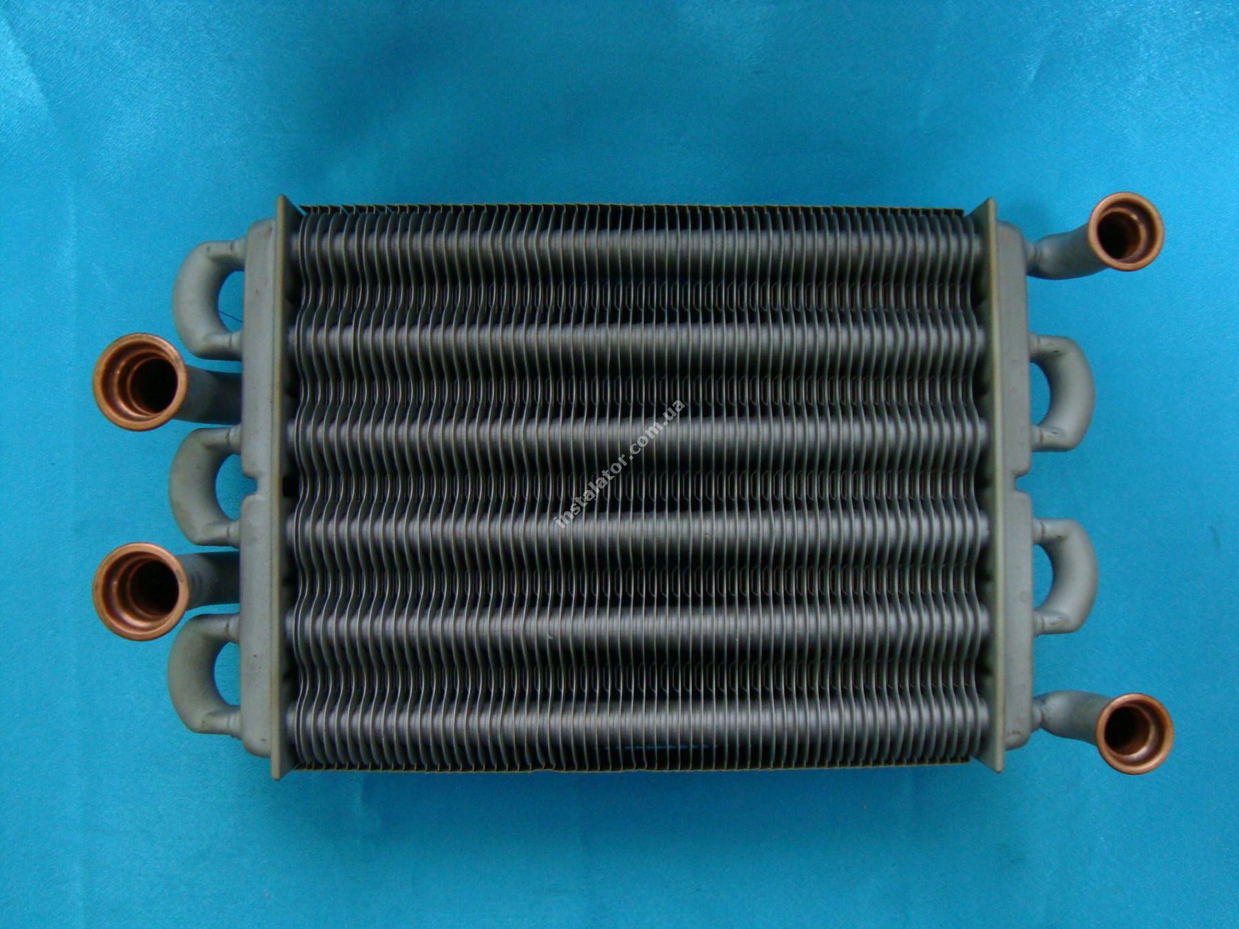 39820060 Теплообмінник бітермічний  FERROLI DOMIPROJECT C24, FerEasy C24 (дим) full-image-0
