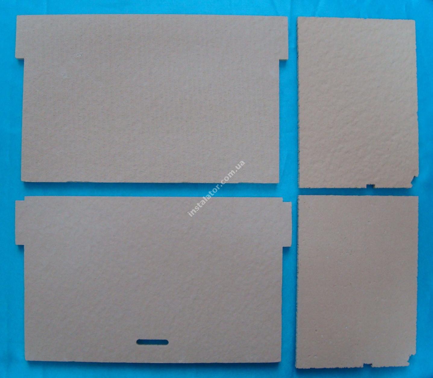 65105029 Термоізоляція камери згорання ARISTON Genus, Glass System (комплект) full-image-1