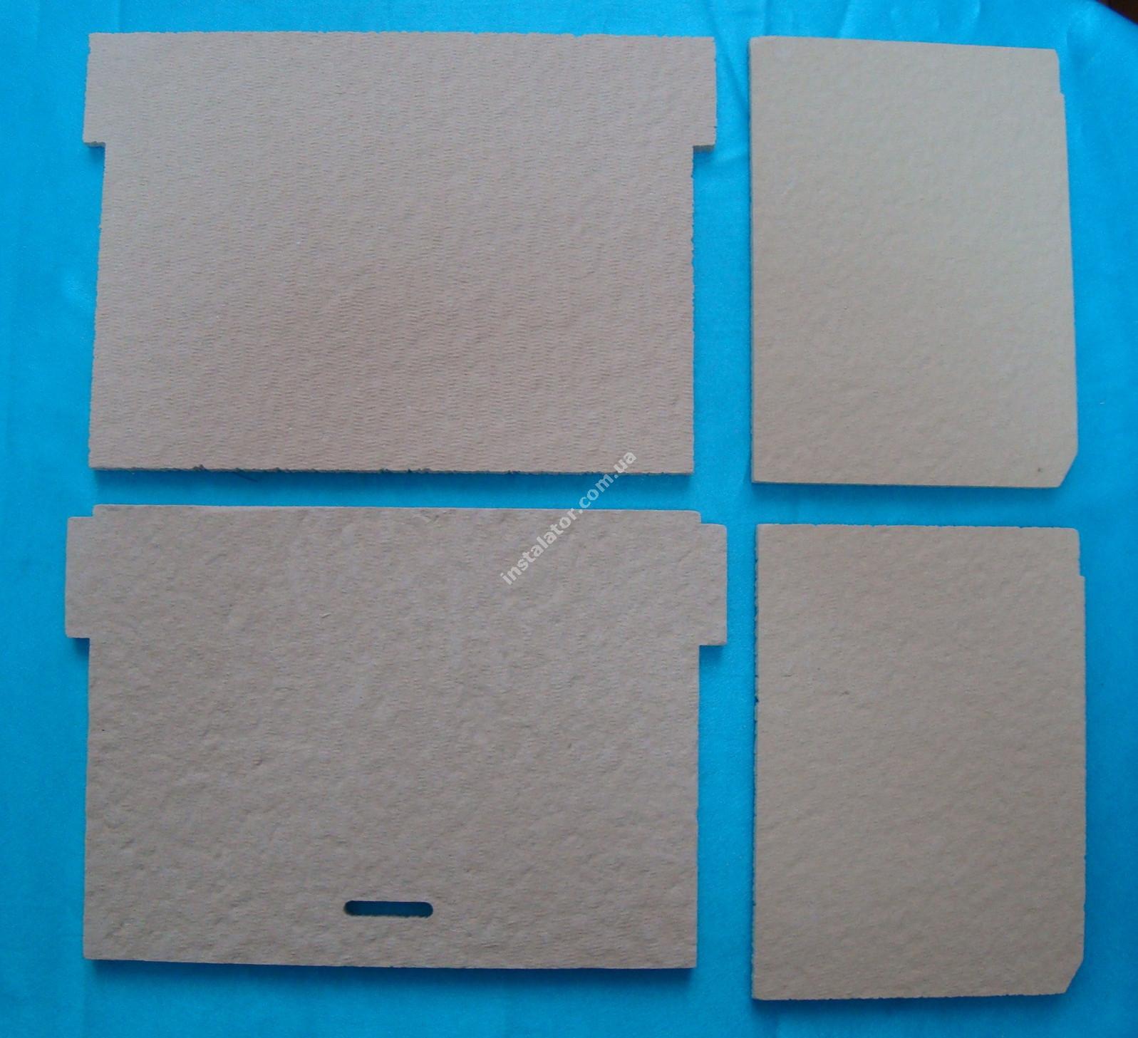 65104695 Термоізоляція камери згорання ARISTON Genus, Glass, Egis (комплект) full-image-1