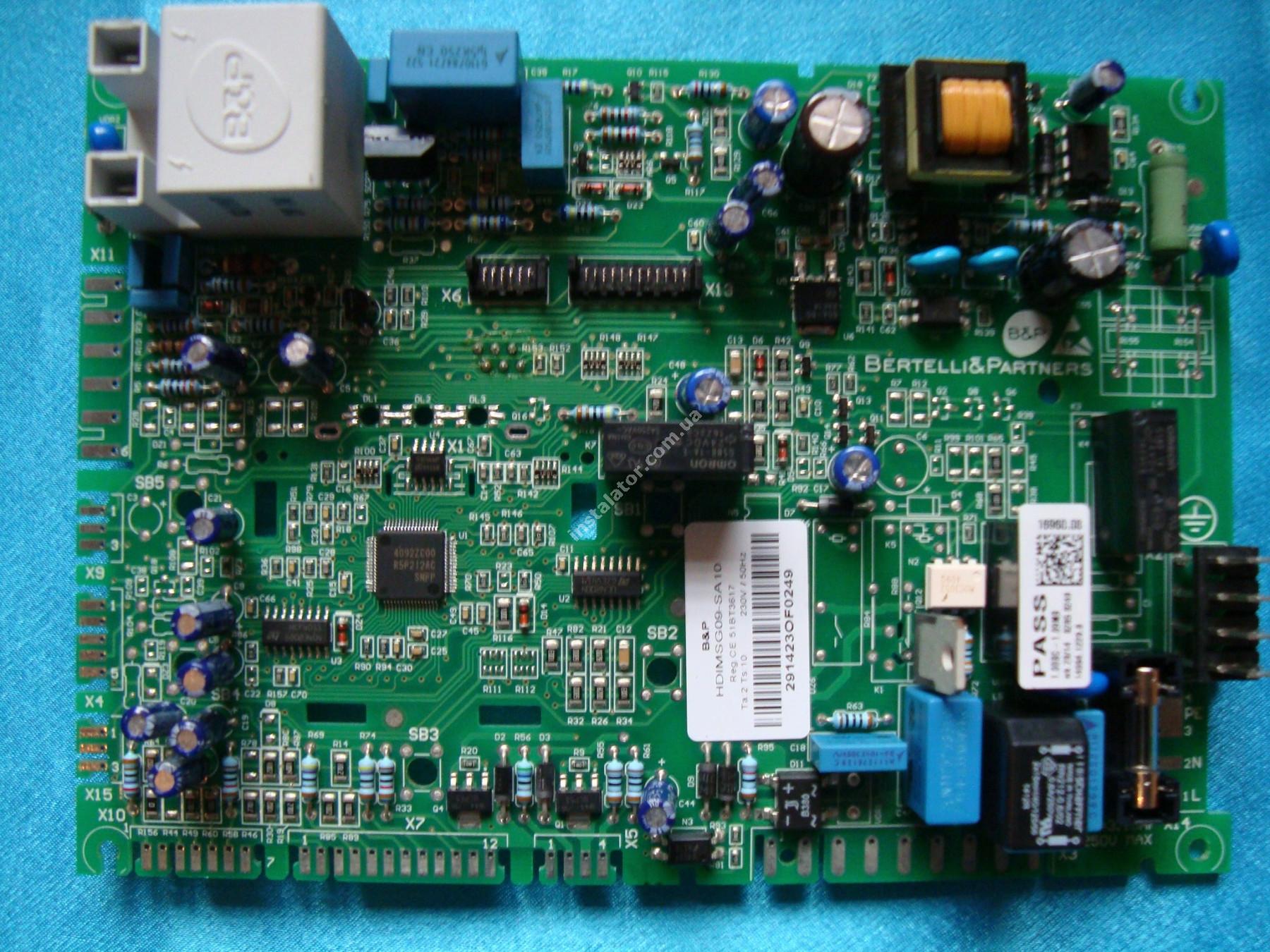 BI2225109 Плата електронна Biasi INOVIA  full-image-0
