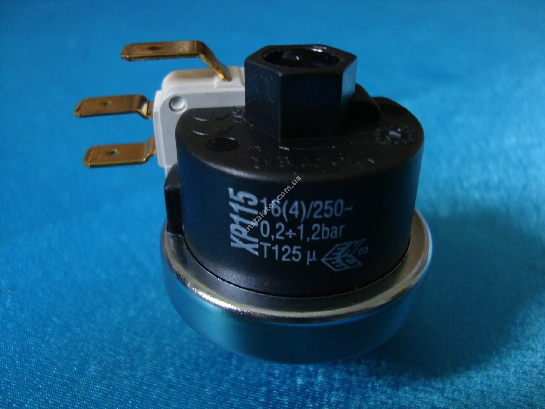 6PRESSAC05 Реле тиску води  ANTEA/ DELFIS XP115 0,2-1,2 бар full-image-1
