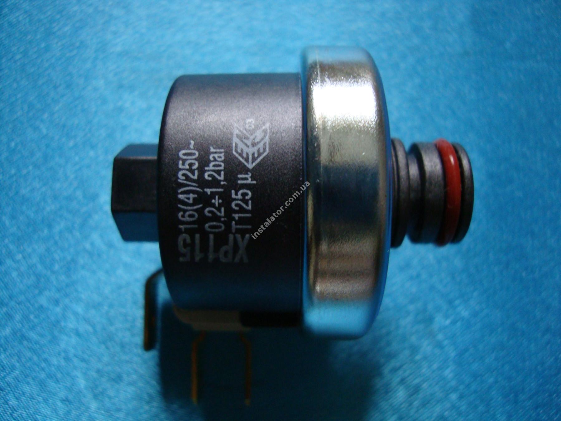 6PRESSAC05 Реле тиску води  ANTEA/ DELFIS XP115 0,2-1,2 бар full-image-3