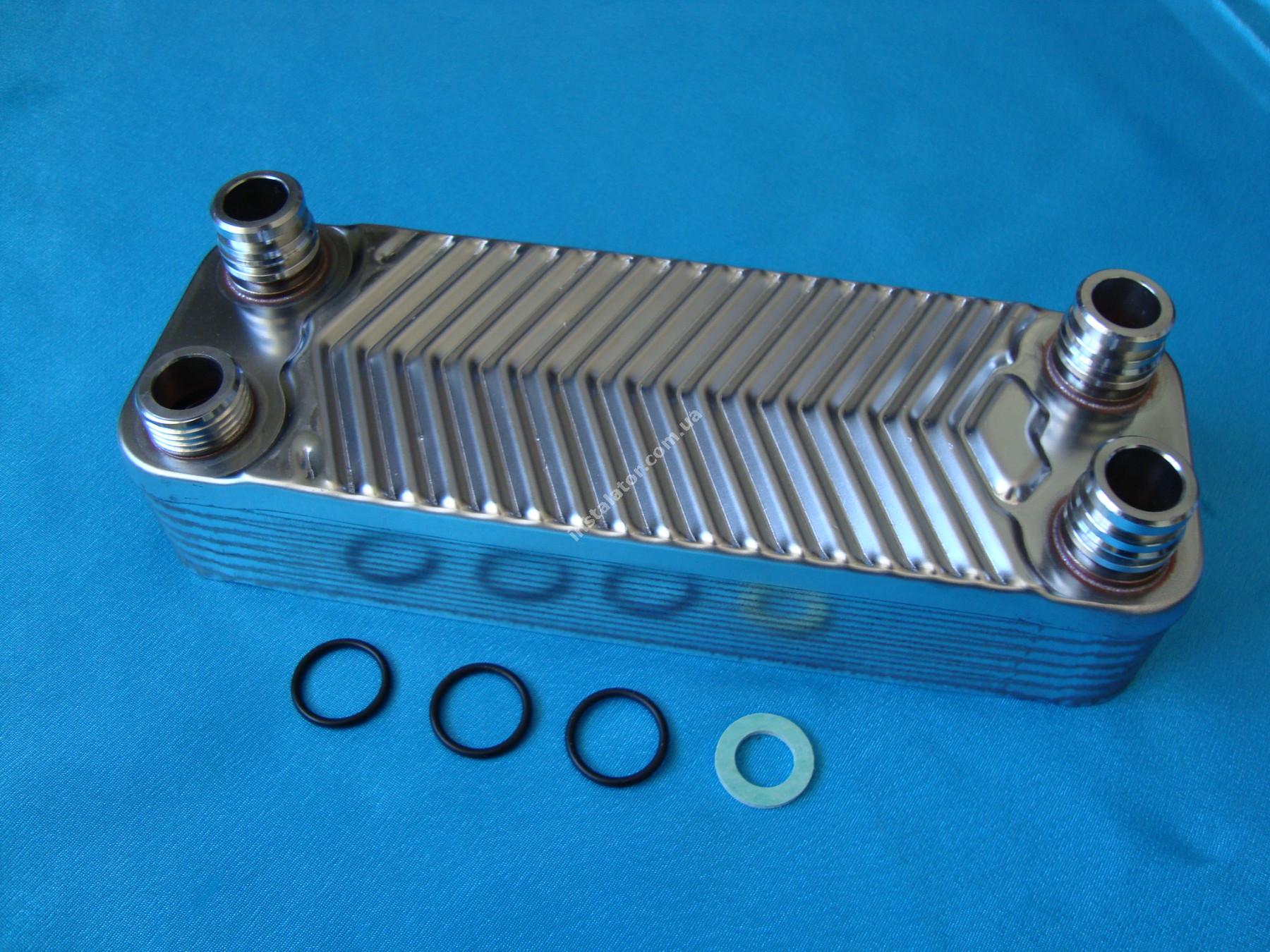 065088 (0020073794) Теплообмінник вторинний  Vaillant TURBOmax, ATMOmax  Plus full-image-1