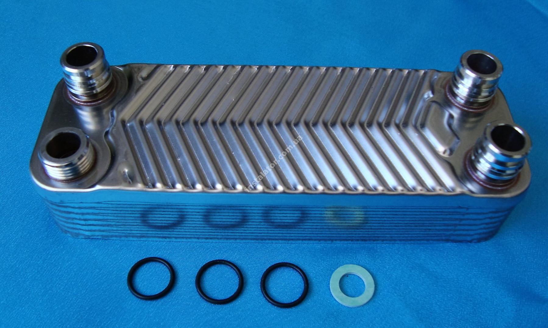 065088 (0020073794) Теплообмінник вторинний  Vaillant TURBOmax, ATMOmax  Plus full-image-3