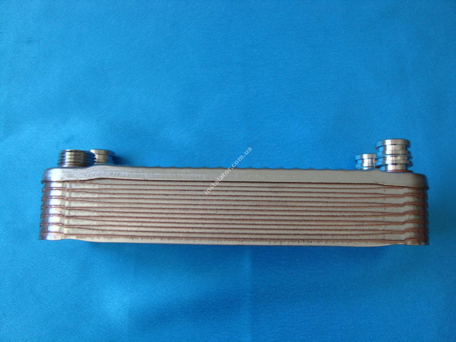 065088 (0020073794) Теплообмінник вторинний  Vaillant TURBOmax, ATMOmax  Plus full-image-0