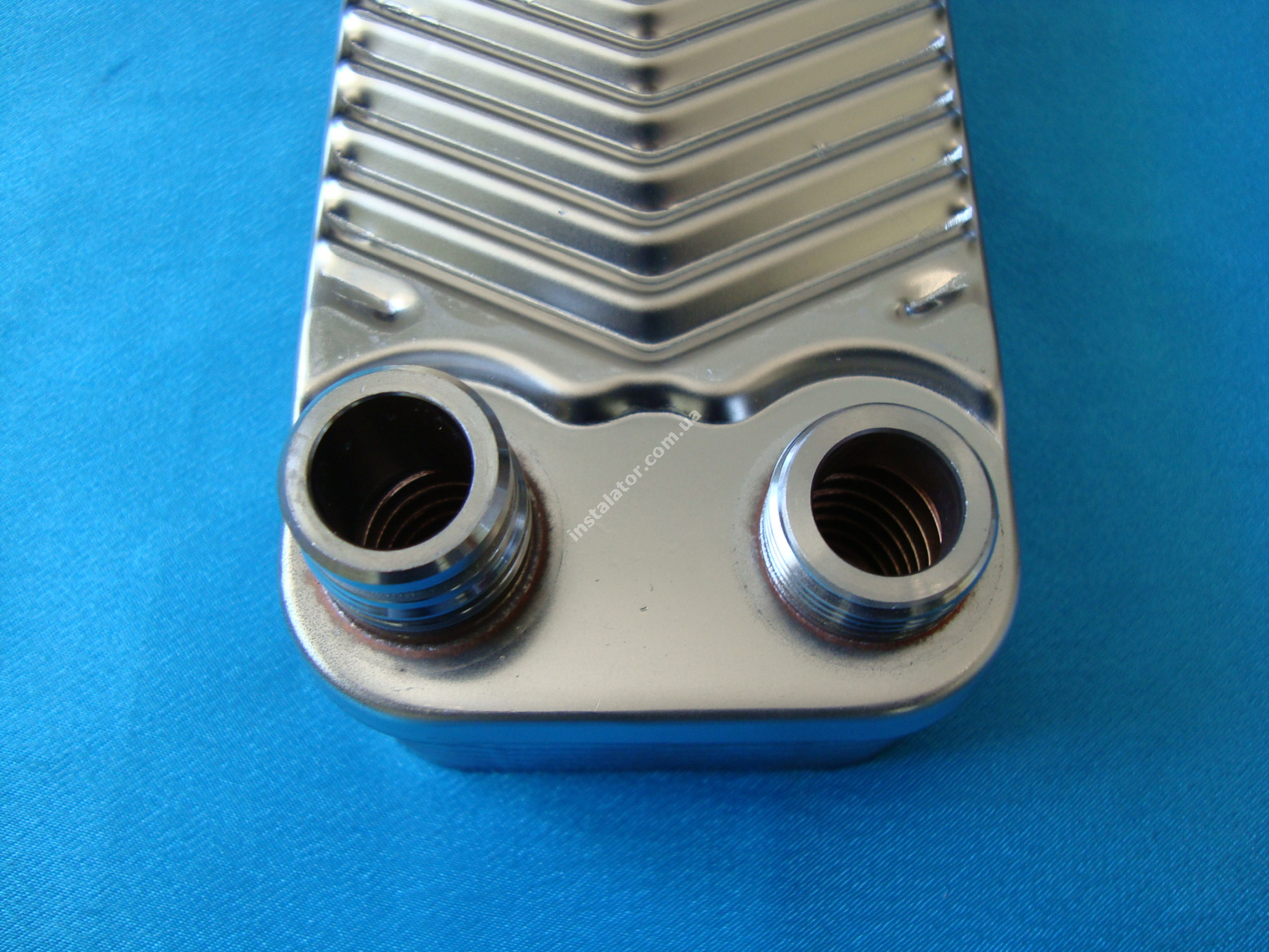 065088 (0020073794) Теплообмінник вторинний  Vaillant TURBOmax, ATMOmax  Plus full-image-4