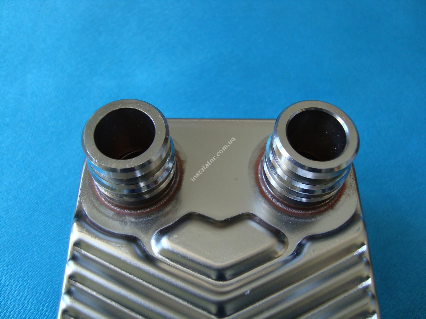 065088 (0020073794) Теплообмінник вторинний  Vaillant TURBOmax, ATMOmax  Plus full-image-2