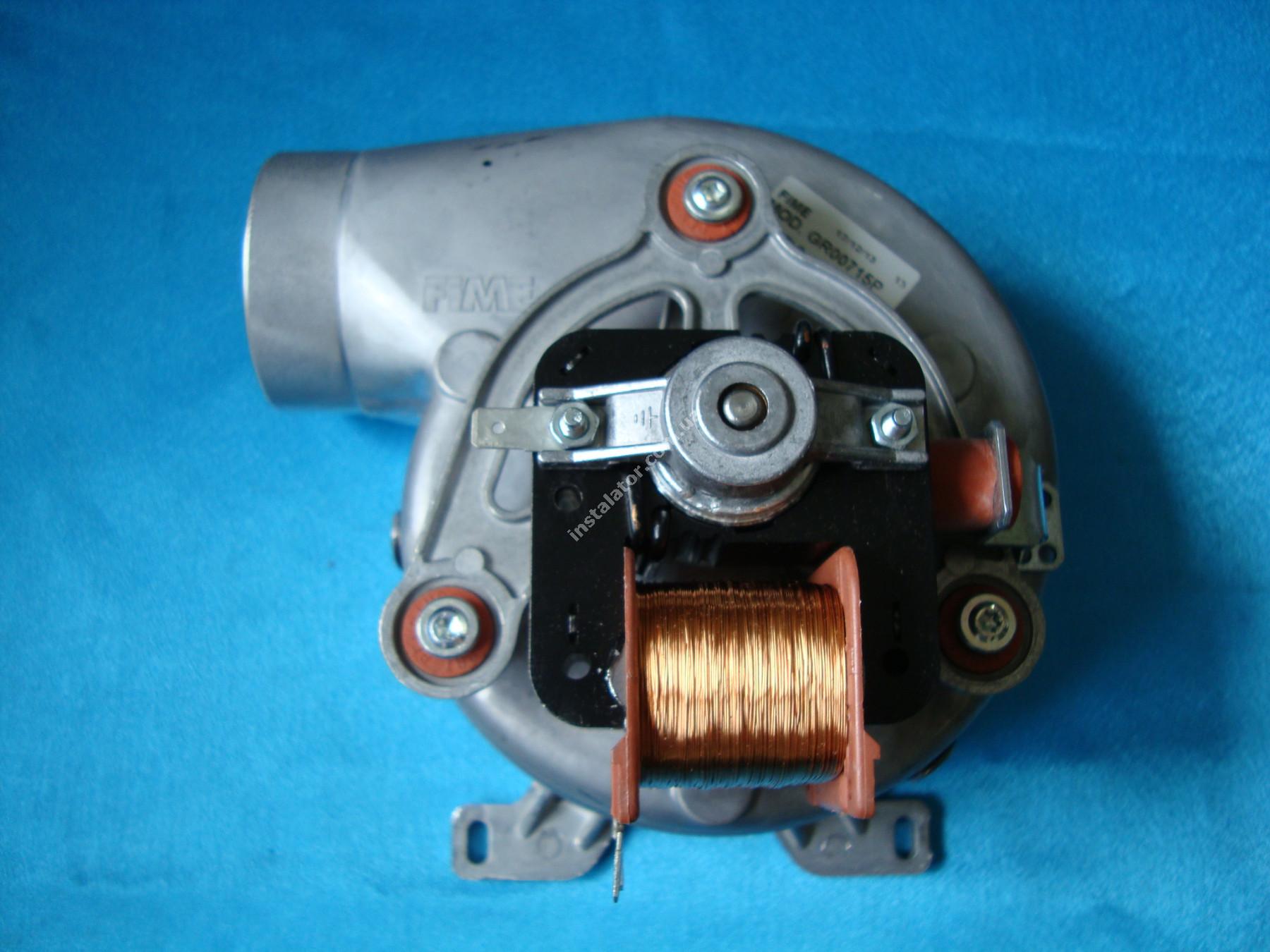 999397 Турбіна (вентилятор) ARISTON MicroGenus / T2 / TX  full-image-0