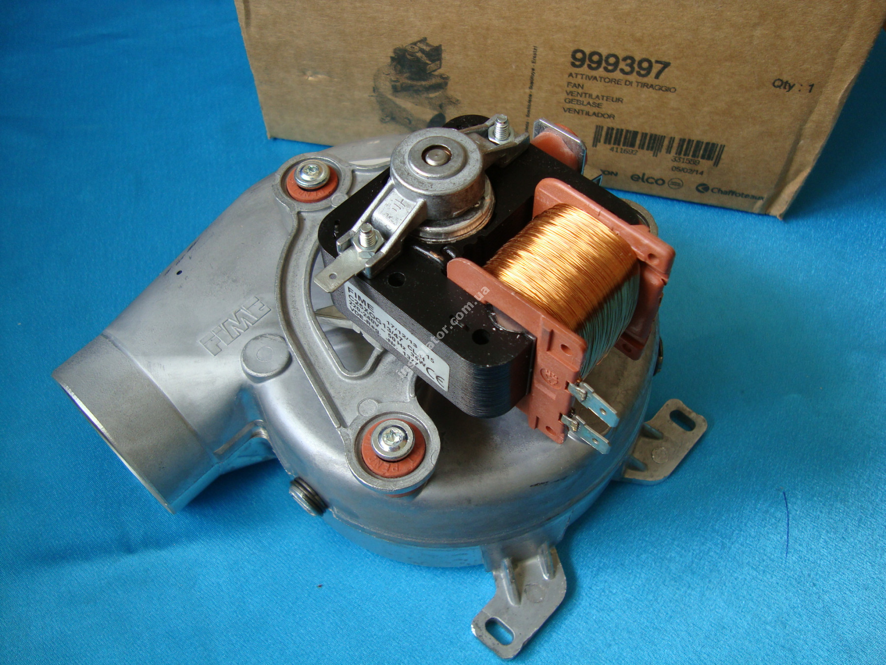 999397 Турбіна (вентилятор) ARISTON MicroGenus / T2 / TX  full-image-1