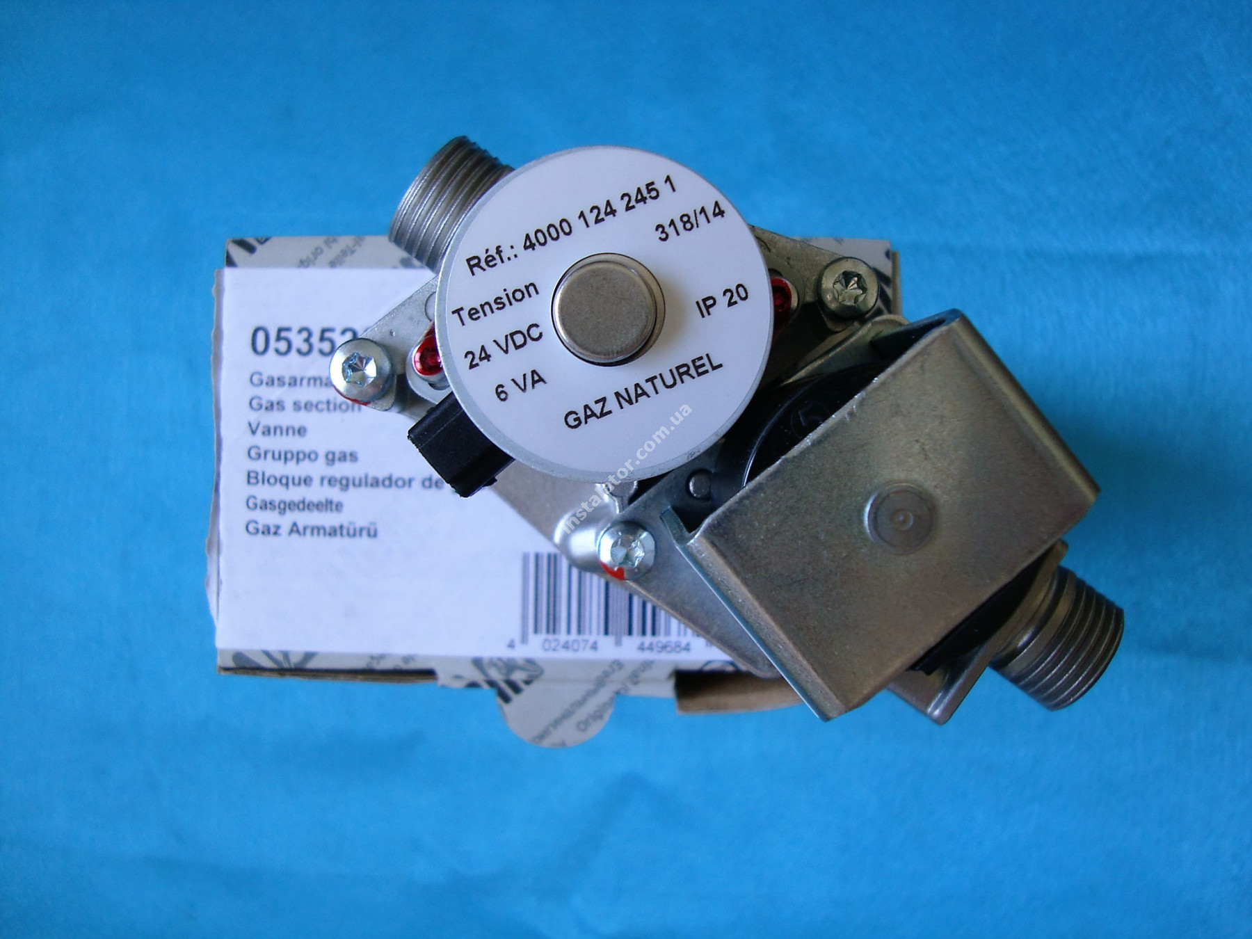 053520 Газовий клапан колонки VAILLANT MAG 16-0/0 XEA G20 (HONEYWELL CE-1312BM354) full-image-3