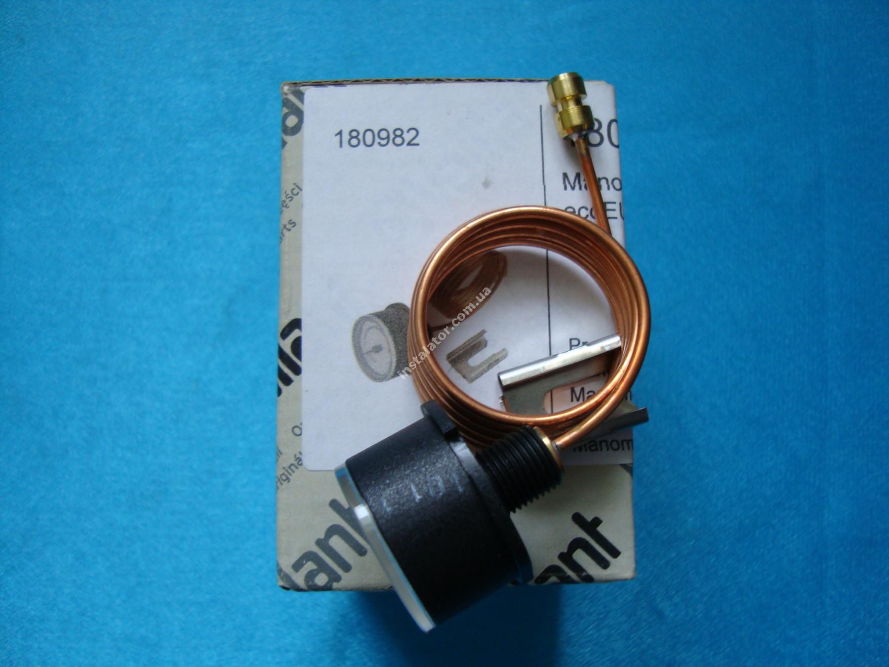 180982 Манометр VAILLANT АtmoTEC Pro, Turbo TEC pro, АtmoTEC plus, Turbo TEC plus  full-image-0