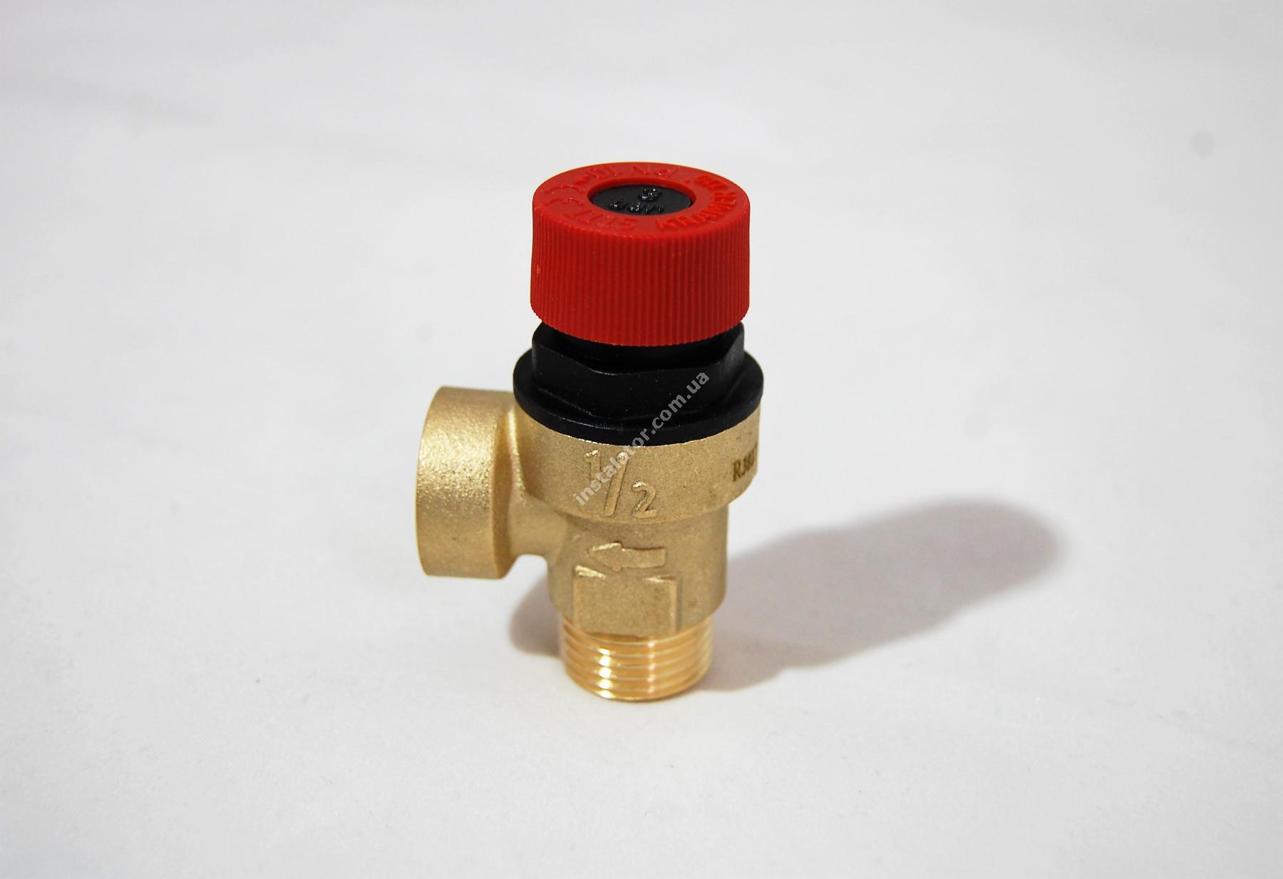 9950600 Запобіжний клапан гідравлічний G1/2 3 бар full-image-0