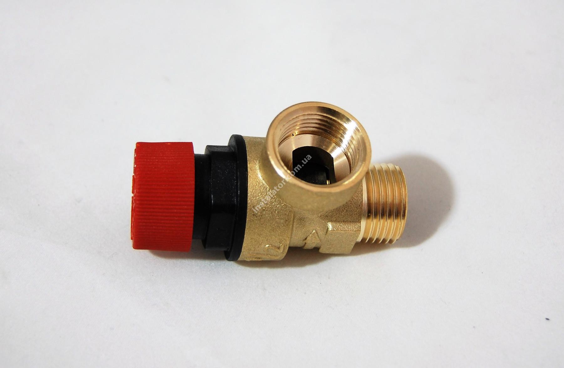 9950600 Запобіжний клапан гідравлічний G1/2 3 бар full-image-3