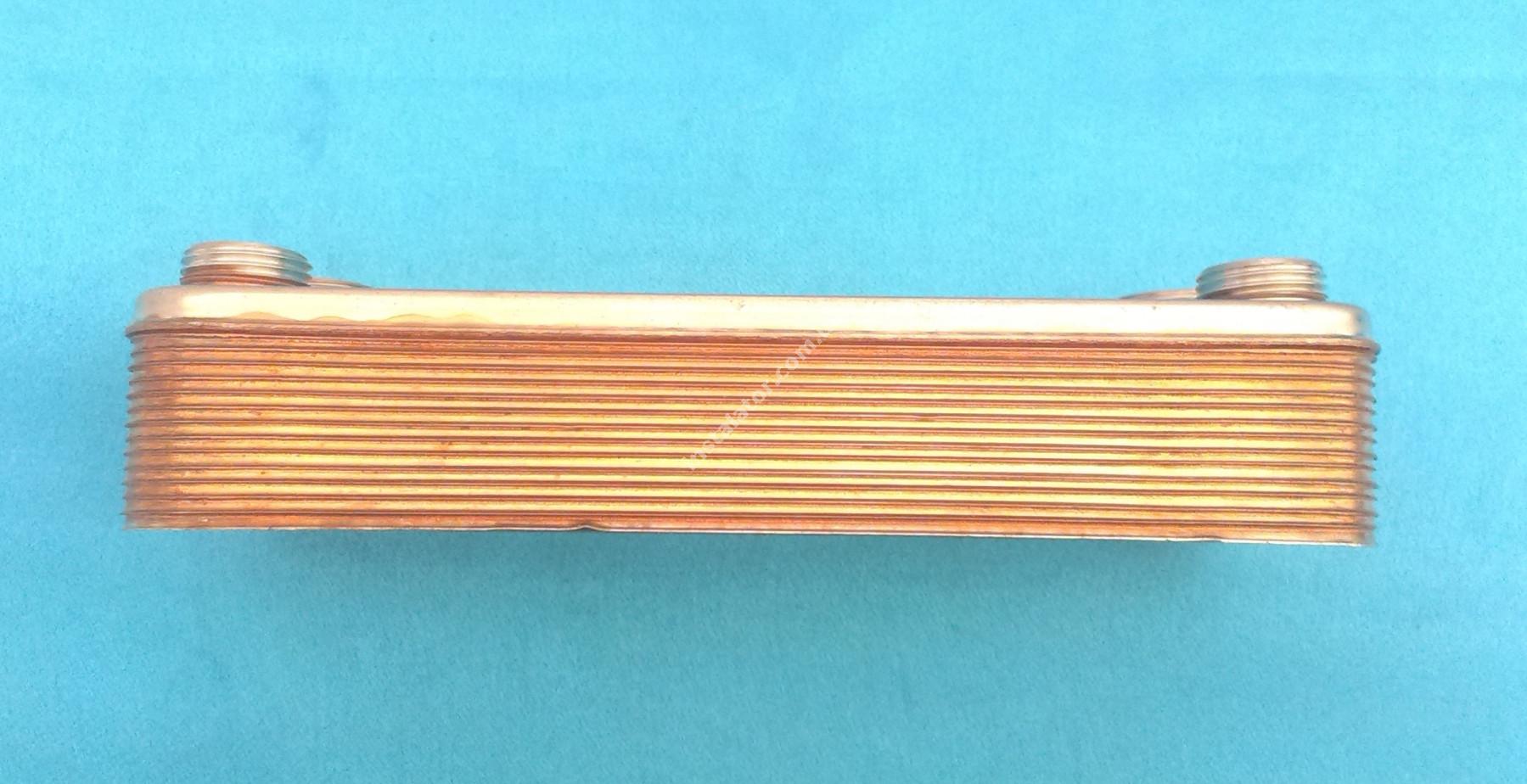 17B2071402 Теплообмінник вторинний ГВП 14 пластин Zilmet  full-image-1