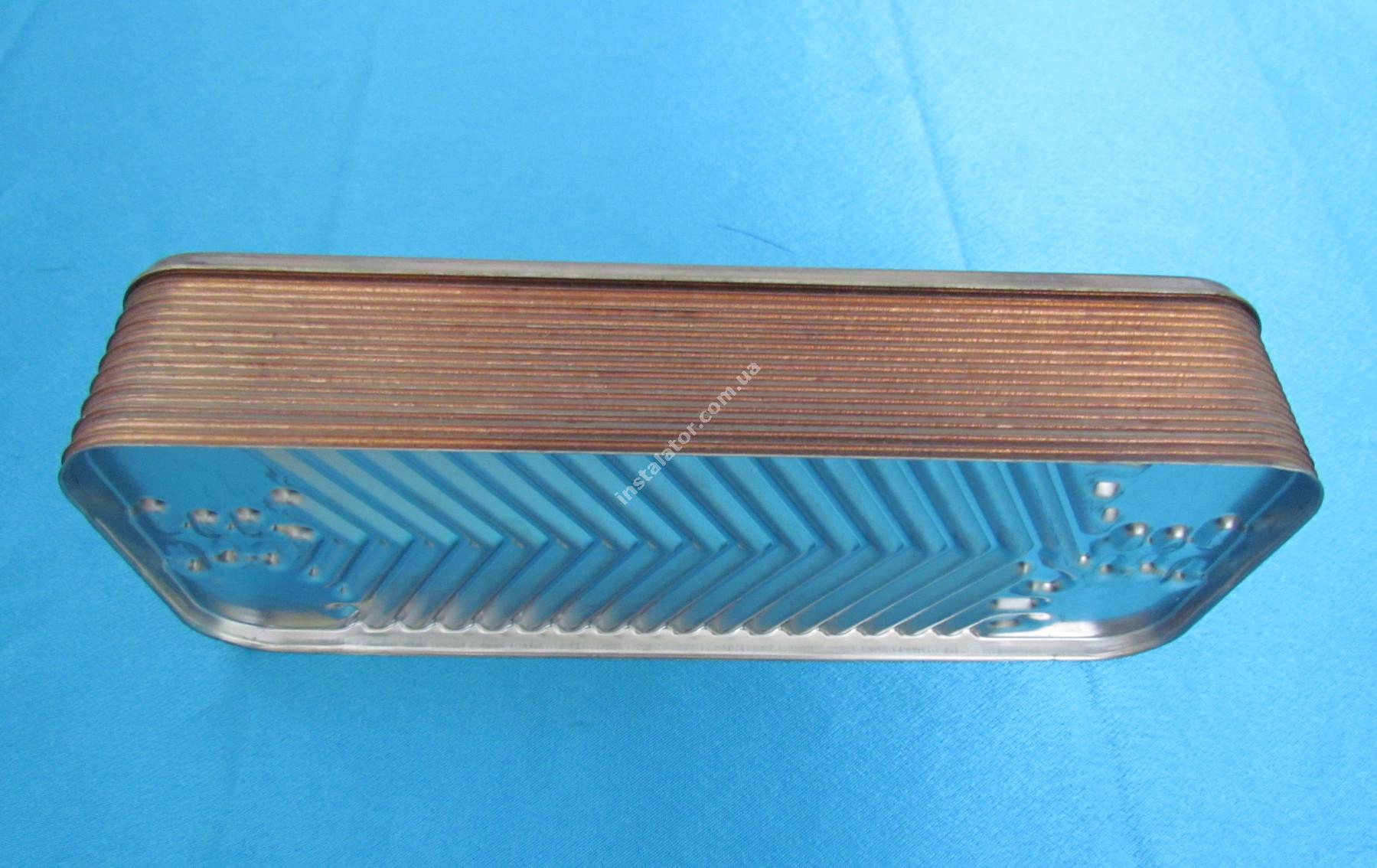 17B2071613 Теплообмінник вторинний ГВП 16 пластин SAUNIER DUVAL, ZILMET full-image-2