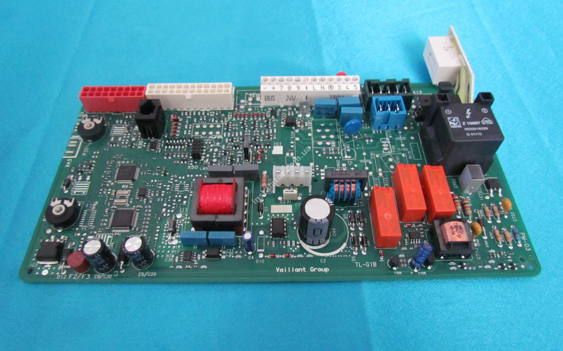 0020092371 Плата керування - універсальна VAILLANT Atmo/Turbo TEC Pro/Plus full-image-2