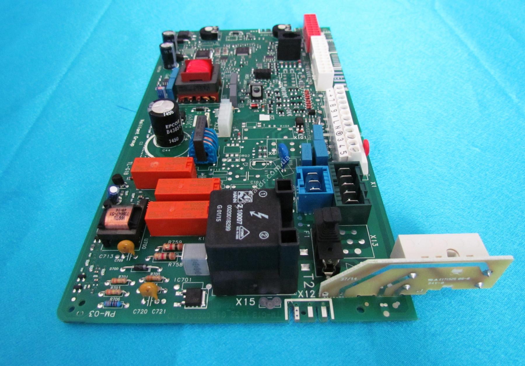 0020092371 Плата керування - універсальна VAILLANT Atmo/Turbo TEC Pro/Plus full-image-1