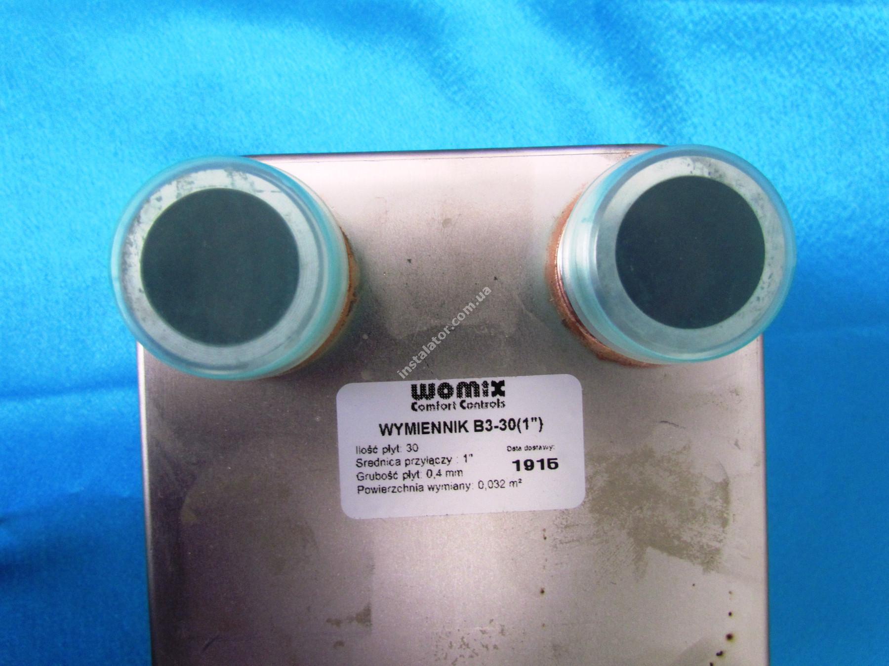 Теплообмінник Womix B3 - 30 пластин full-image-2