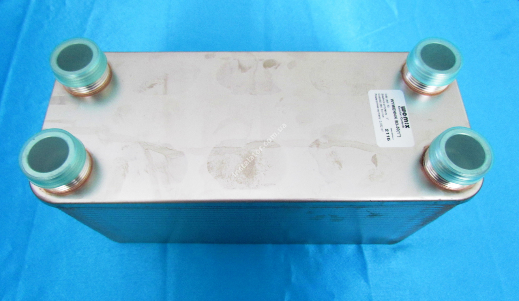 Теплообмінник Womix B3 - 50 пластин full-image-3