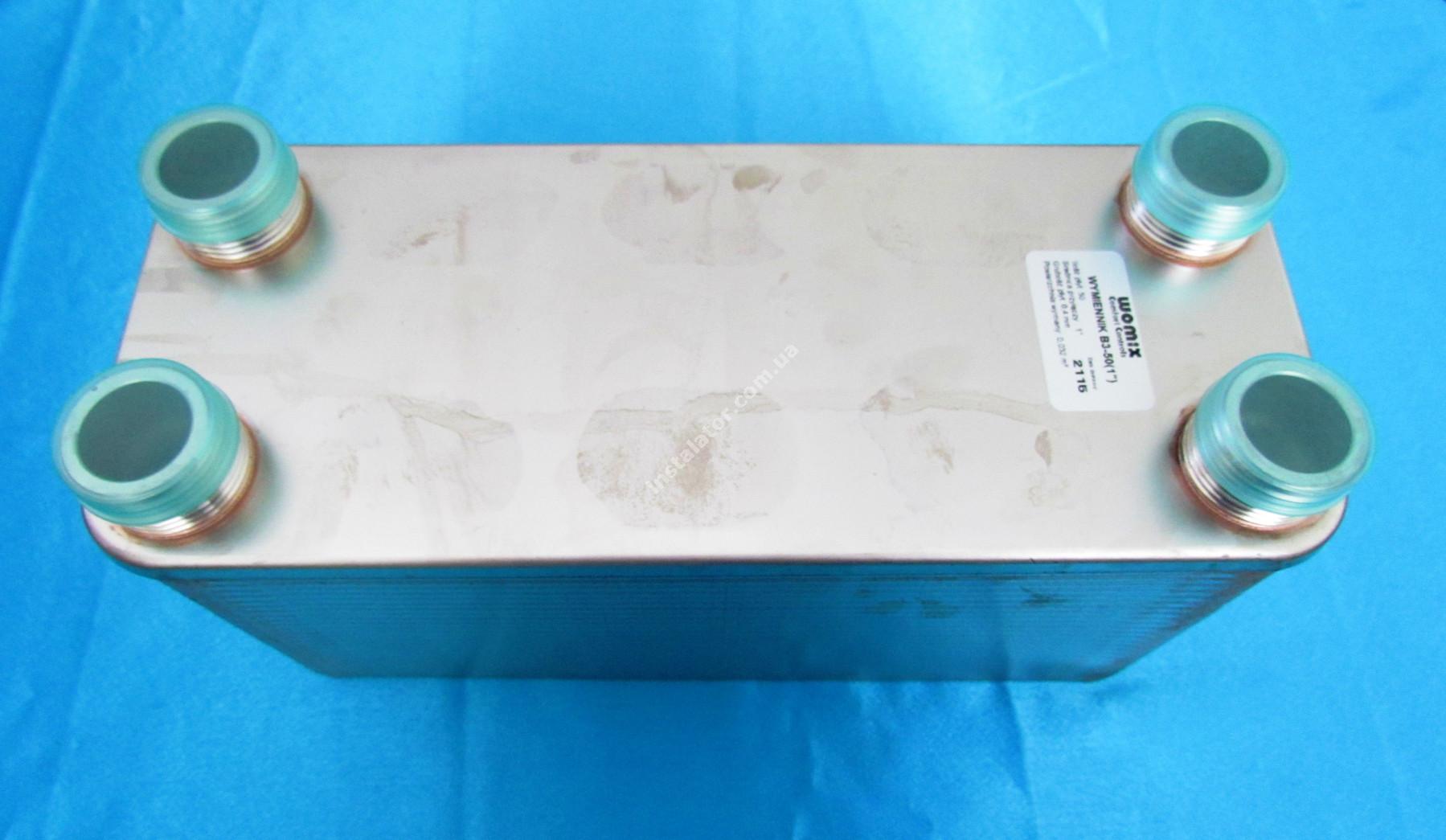Теплообмінник Womix B3 - 40 пластин full-image-0