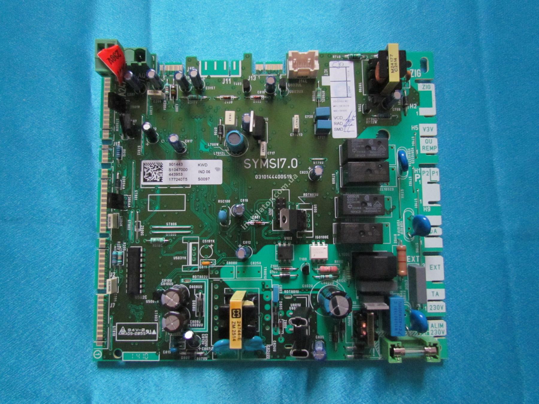 S1047000 Плата керування (основна) SAUNIER DUVAL ThemaClassic, Isofast, Combitek full-image-1