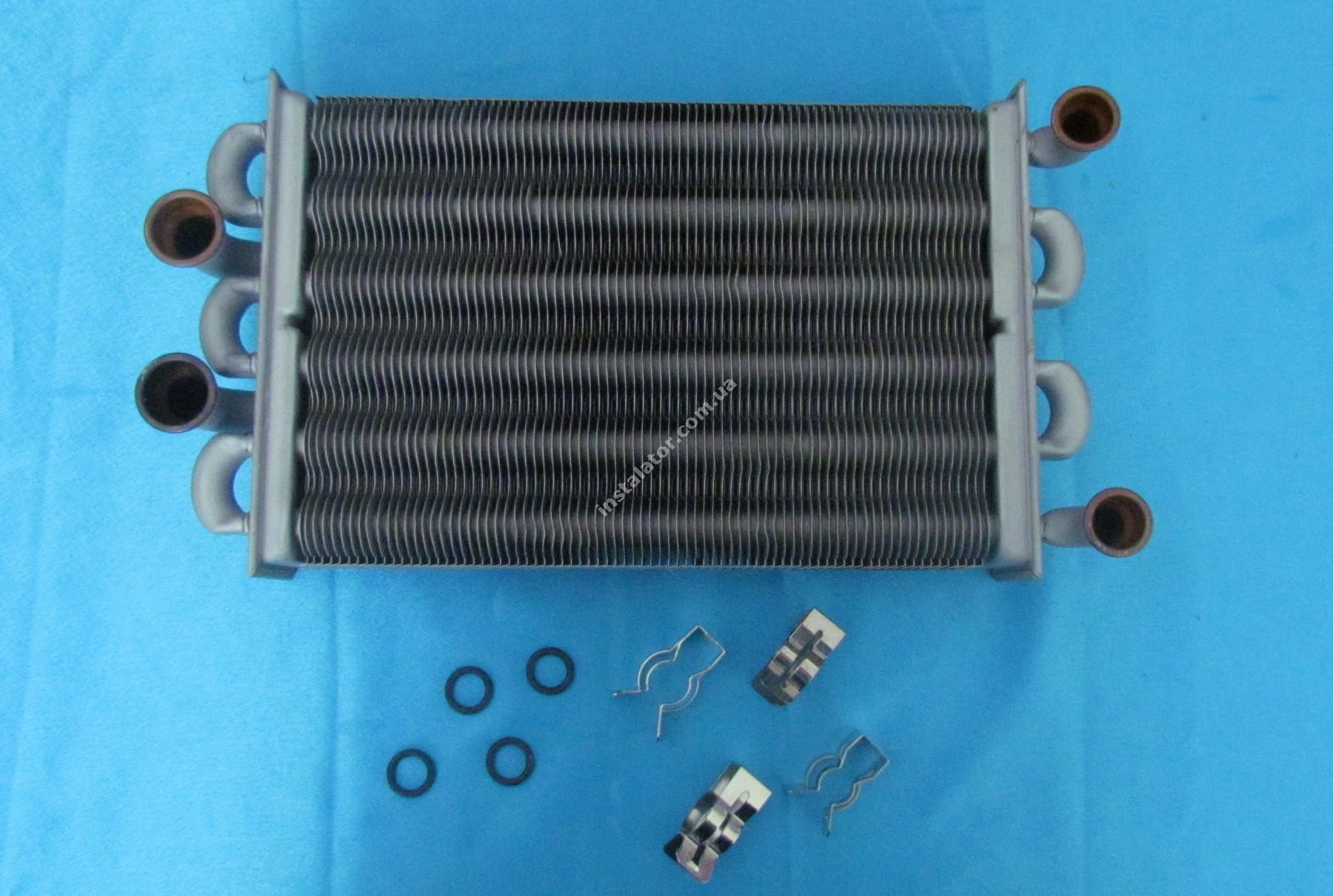 65105094 Теплообмінник бітермічний ARISTON Egis As до 2008р. full-image-2