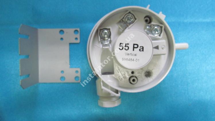998484-01 Пресостат повітря (реле тиску димових газів) ARISTON Uno MFFI 55Ра