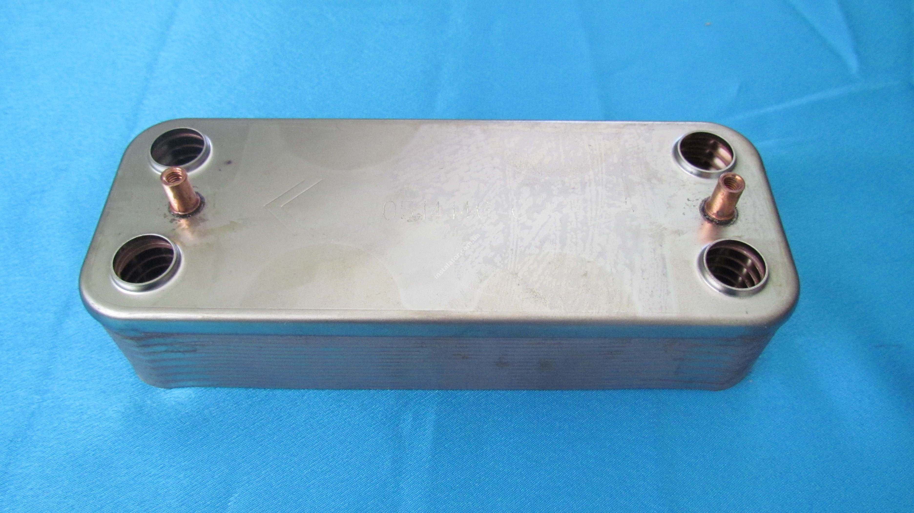 R8037 Теплообмінник вторинний ГВП BERETTA CITY MINUTA 28