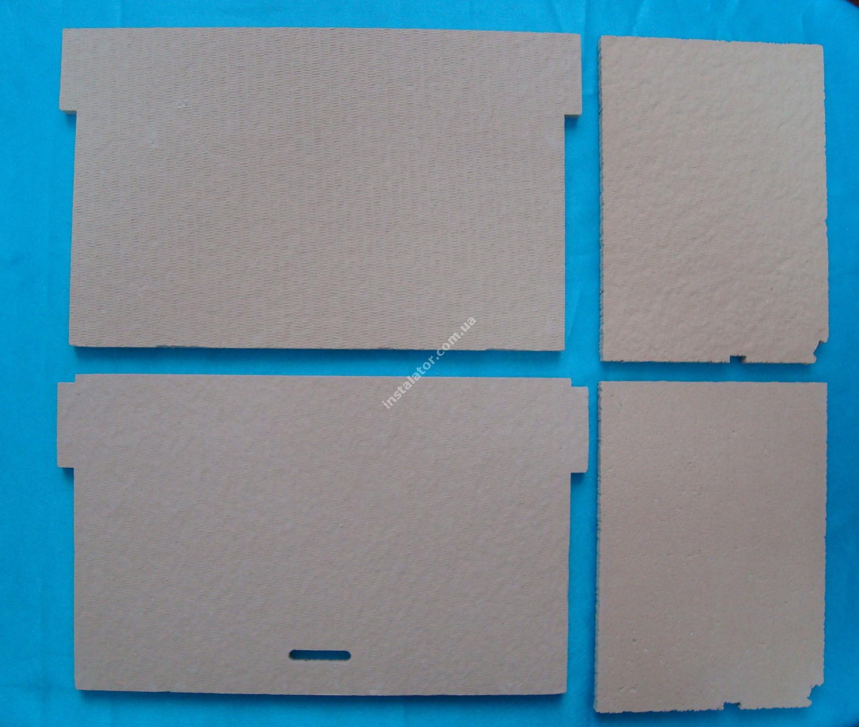 65105029 Термоізоляція камери згорання ARISTON Genus, Glass System (комплект)