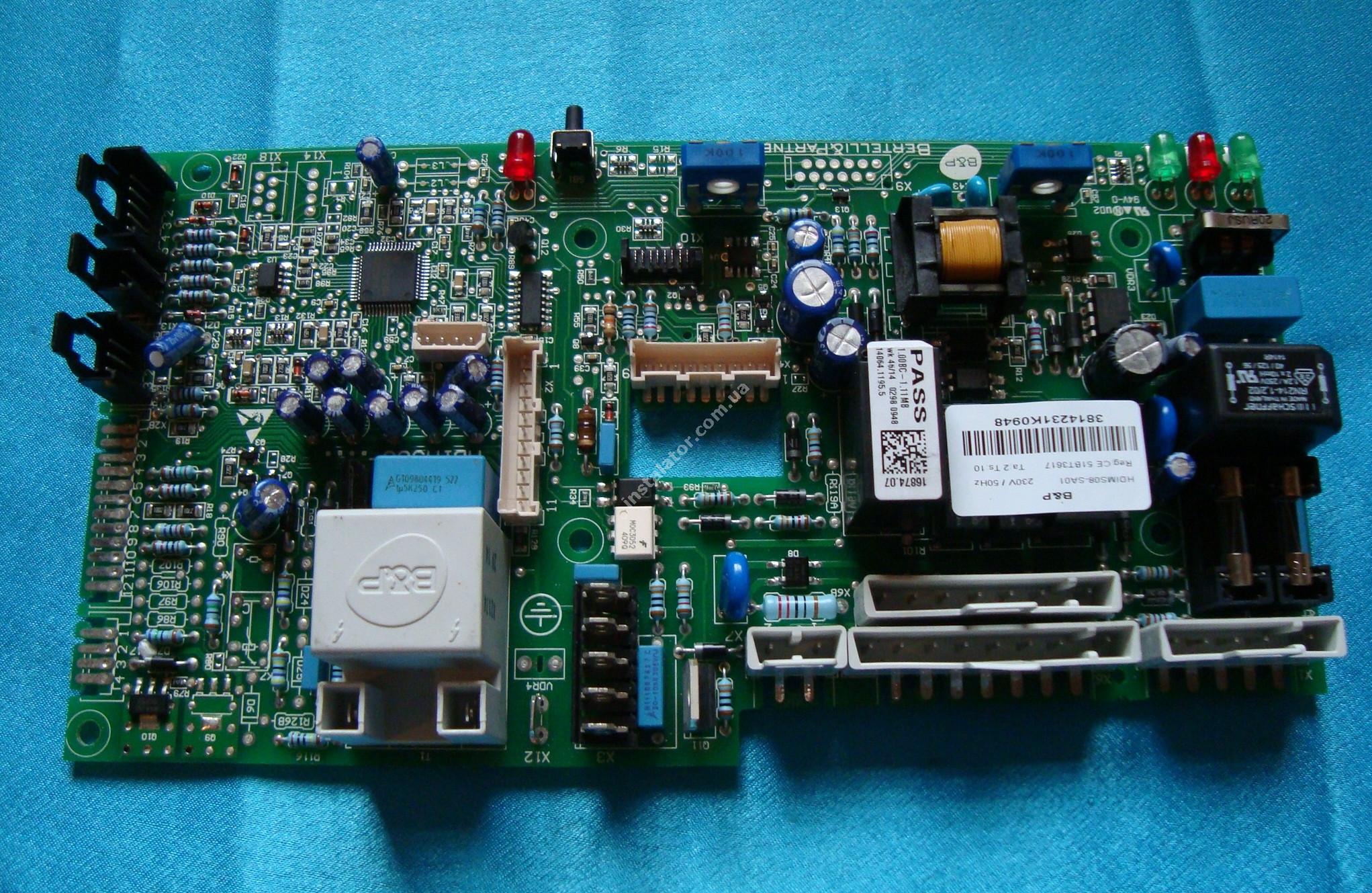 BI2015100 Плата електронна BIASI Nova Parva M90