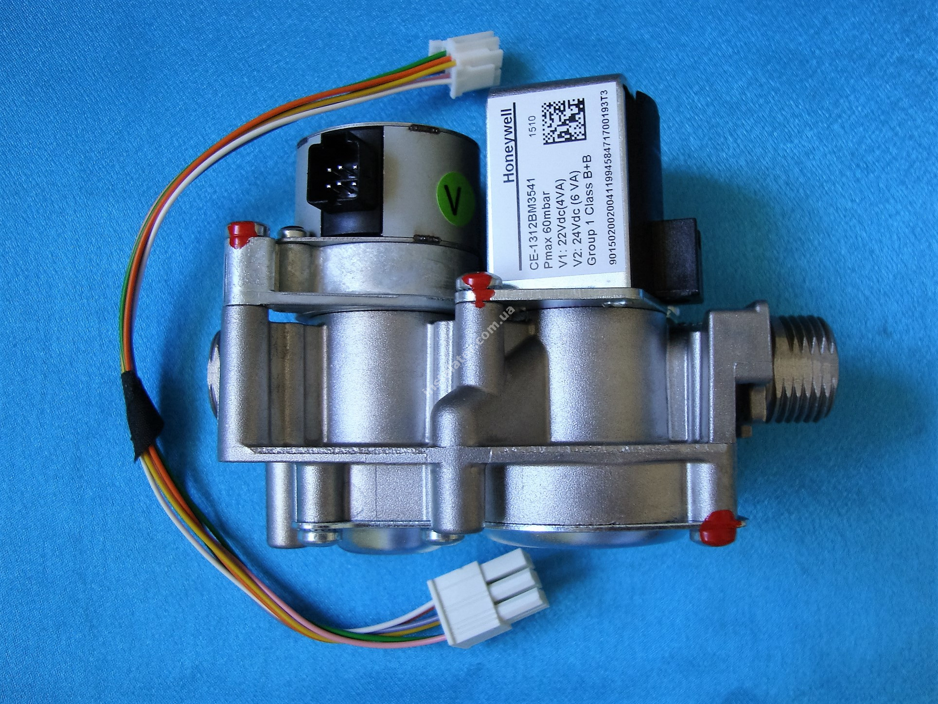 053520 Газовий клапан колонки VAILLANT MAG 16-0/0 XEA G20 (HONEYWELL CE-1312BM354)