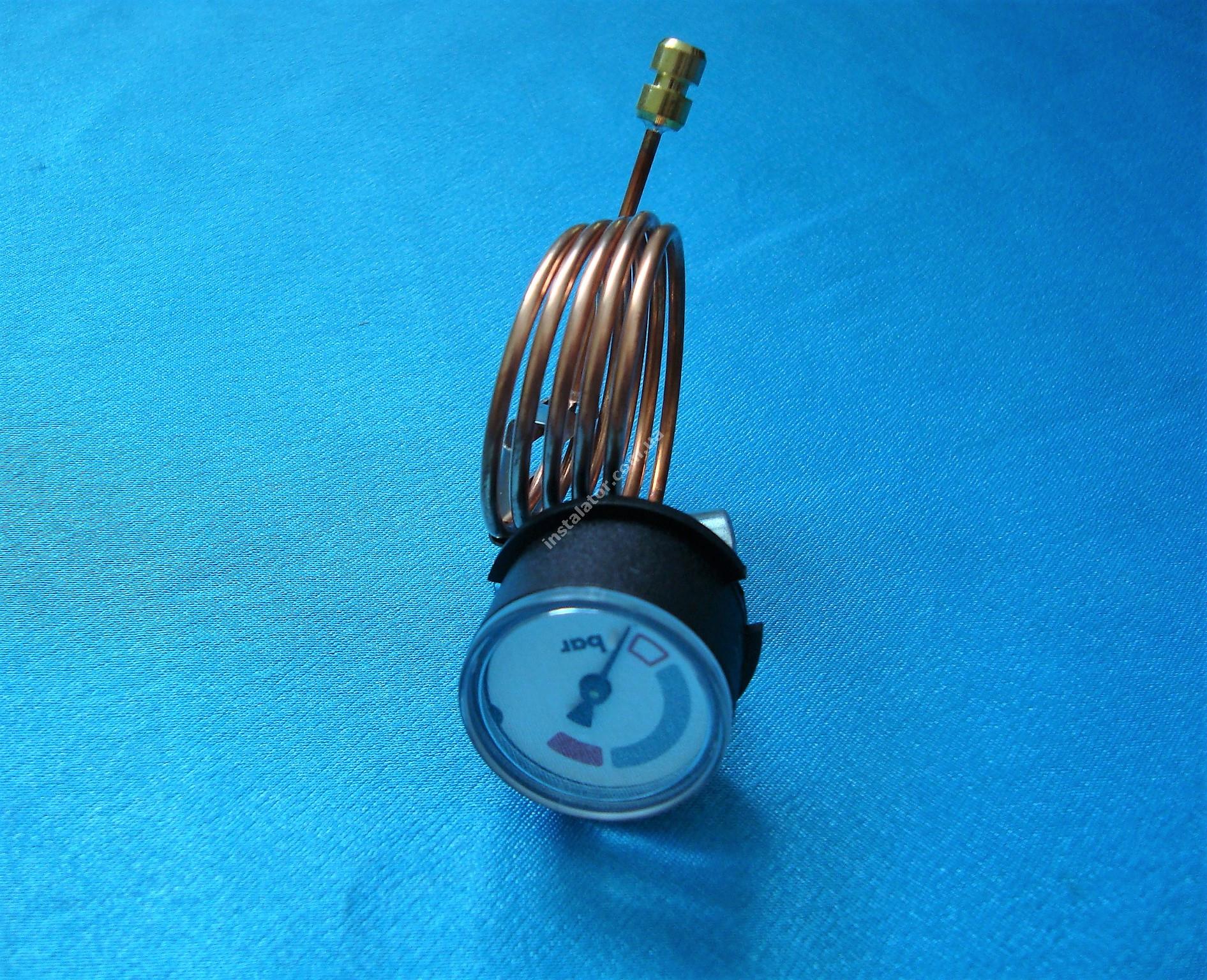 180982 Манометр VAILLANT АtmoTEC Pro, Turbo TEC pro, АtmoTEC plus, Turbo TEC plus