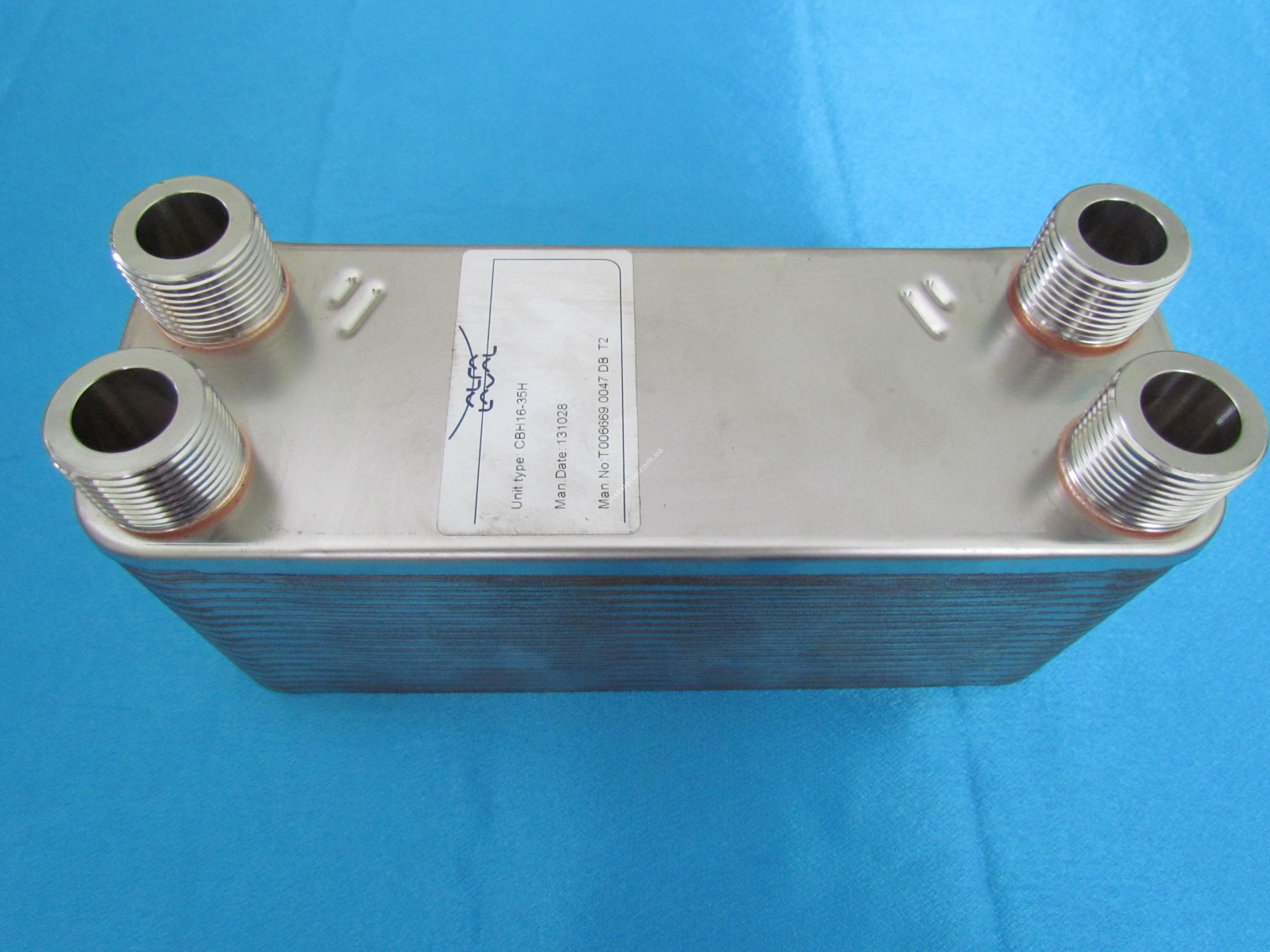 Теплообмінник ГВП Alfa Laval 35 пластин