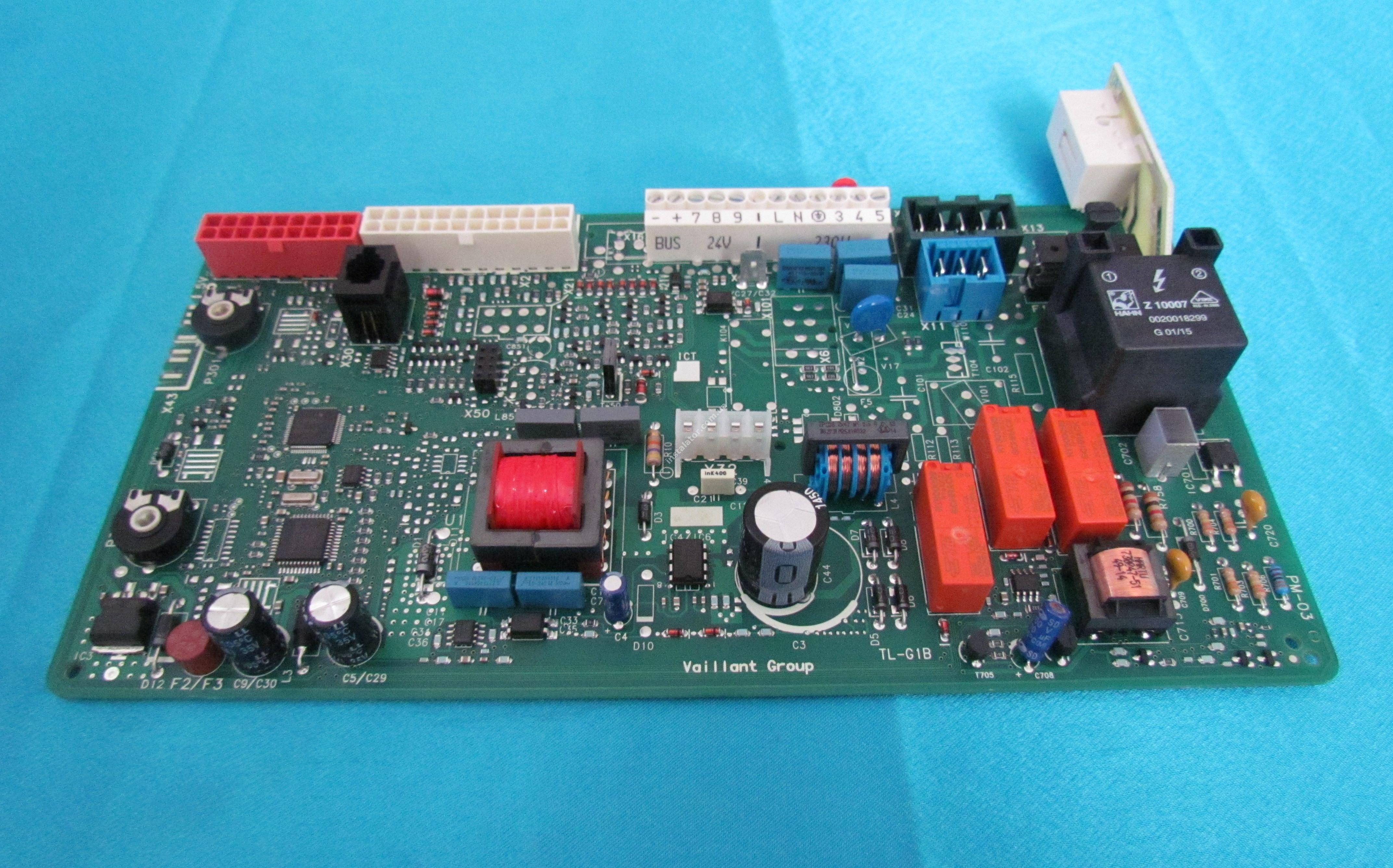 0020092371 Плата керування - універсальна VAILLANT Atmo/Turbo TEC Pro/Plus