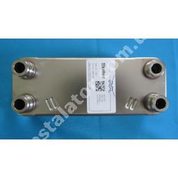 065153 Теплообмінник вторинний ГВП 20 пластин VAILLANT