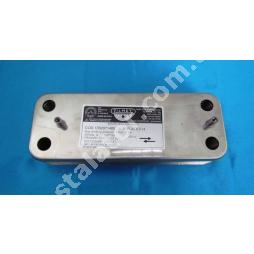 17B2071400 Теплообмінник вторинний ГВП 14 пластин BAXІ, ZILMET